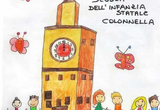 FOTO   Colonnella, decorazioni pasquali nei negozi dai piccoli delle Scuole dell'Infanzia