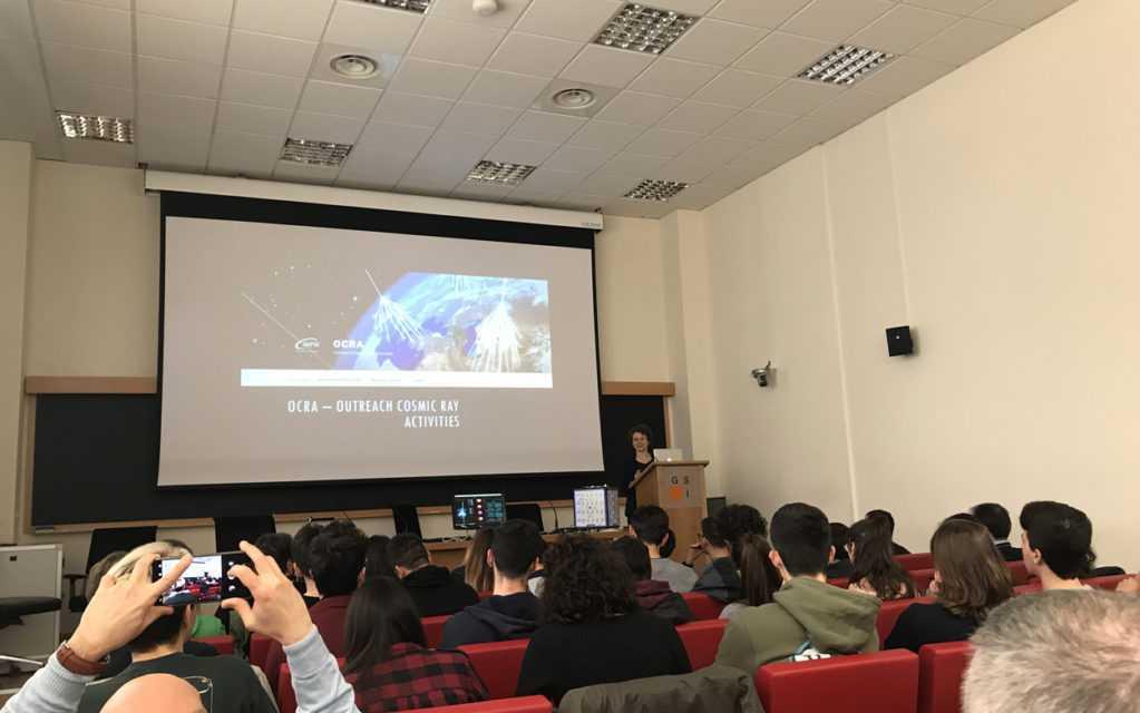 """Cinquestudenti abruzzesi per lo stage sui raggi cosmici al """"Gran Sasso Science Institute"""""""