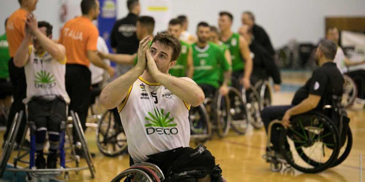 Basket in carrozzina, Amicacci sconfitta da Santo Stefano saluta i play-off