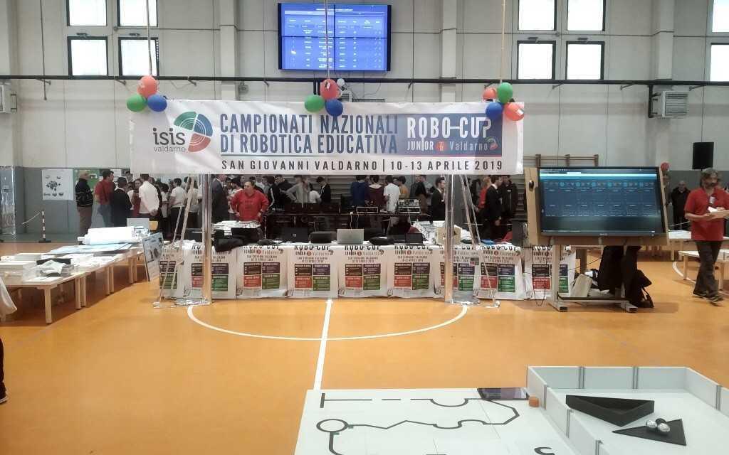 Robo-Cup Junior, Alessandrini-Marino si aggiudica il quarto posto