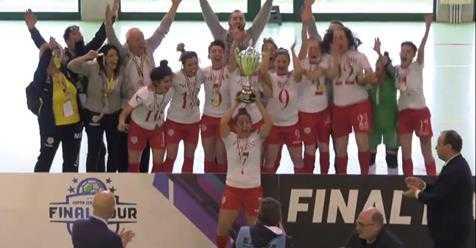 Calcio a 5, le ragazze del Francavilla vincono la Coppa Italia Nazionale