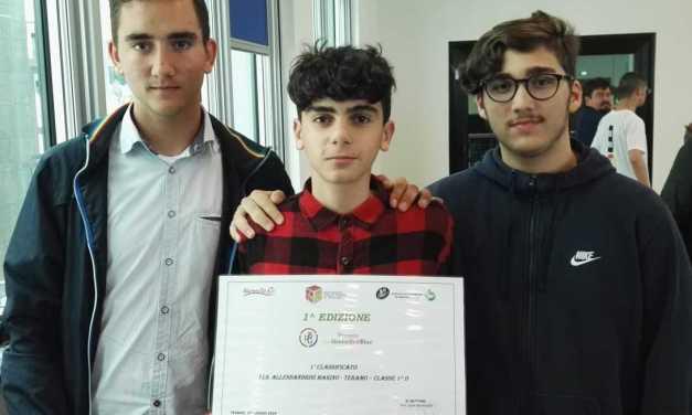 Teramo, doppia vittoria per gli studenti dell'IIS Alessandrini-Marino