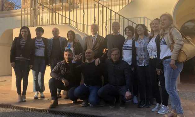 FOTO   Comunali, Bertolaso a Pineto a sostegno del candidato sindaco Passamonti