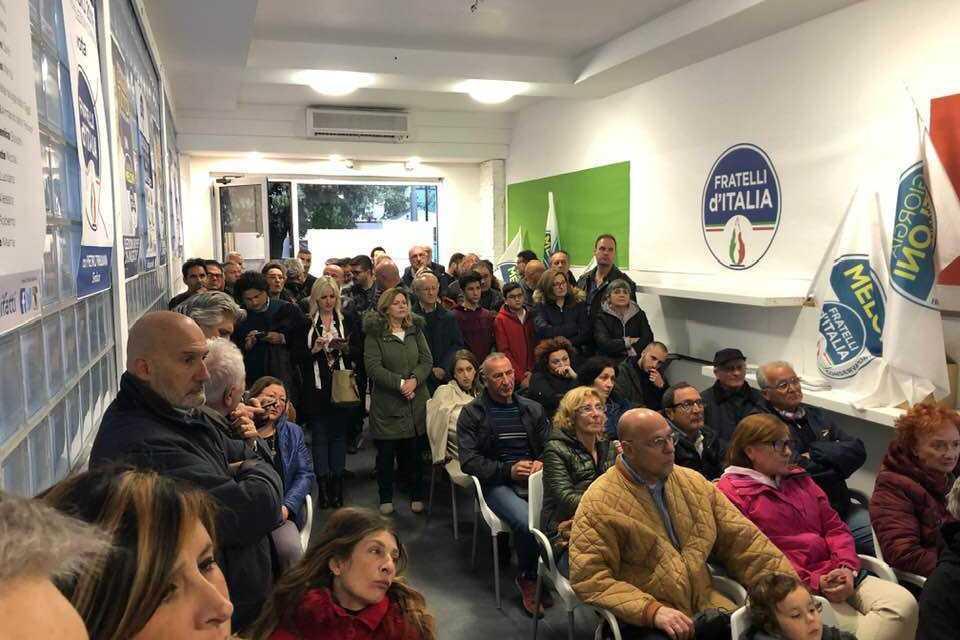 Fratelli d'Italia, partecipato convegno a Giulianova  su 'Sport, salute ed eventi' a sostegno del candidato sindaco Tribuiani
