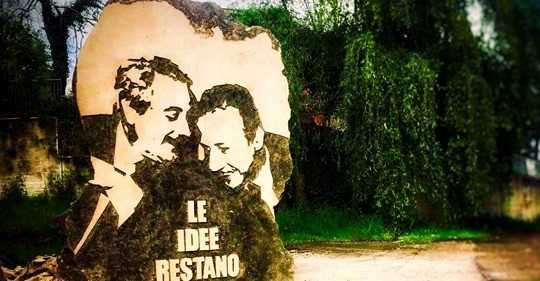 VIDEO | Premio Borsellino, a Castelli un monumento in omaggio a Falcone e Borsellino