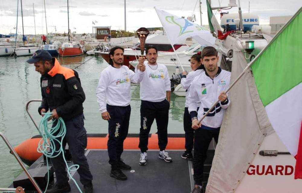 FOTO | Finali nazionali studentesche di calcio a 5, in 1000 hanno assistito alla cerimonia d'apertura nel porto di Giulianova