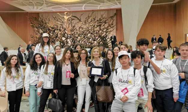 """""""Includiamo per vincere"""" è il progetto di Corropoli premiato dal Miur e da sua Santità Papa Francesco"""
