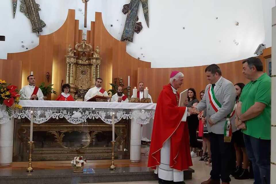 Ancarano, Visita Pastorale del Vescovo Mons. Giovanni D'Ercole