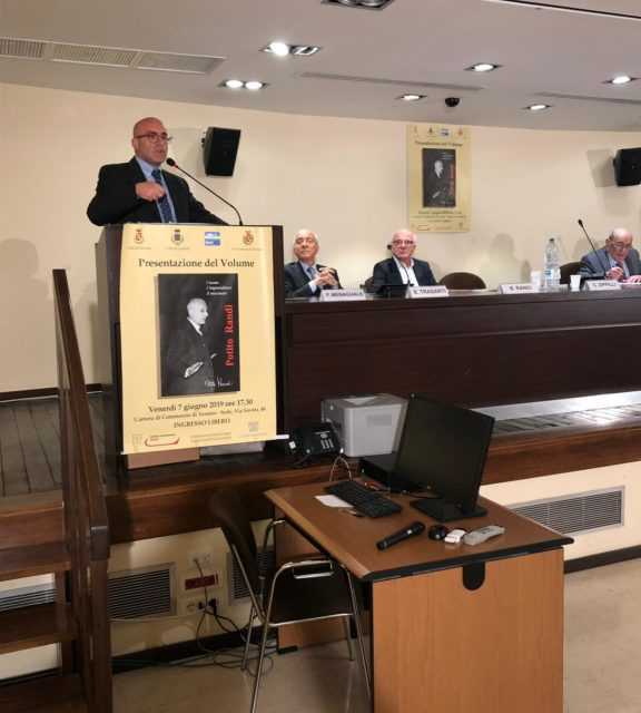 FOTO | Potito Randi, l'Uomo, l'Imprenditore, Il Mecenate: presentata la biografia alla Camera di Commercio