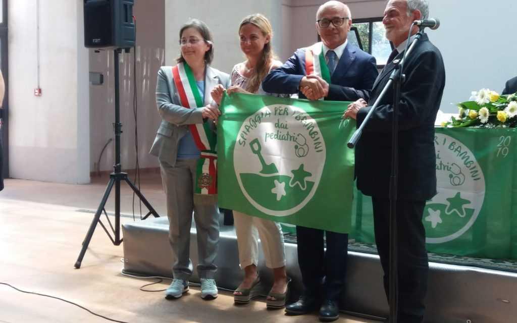 FOTO | Tortoreto conferma la Bandiera Verde pediatrica