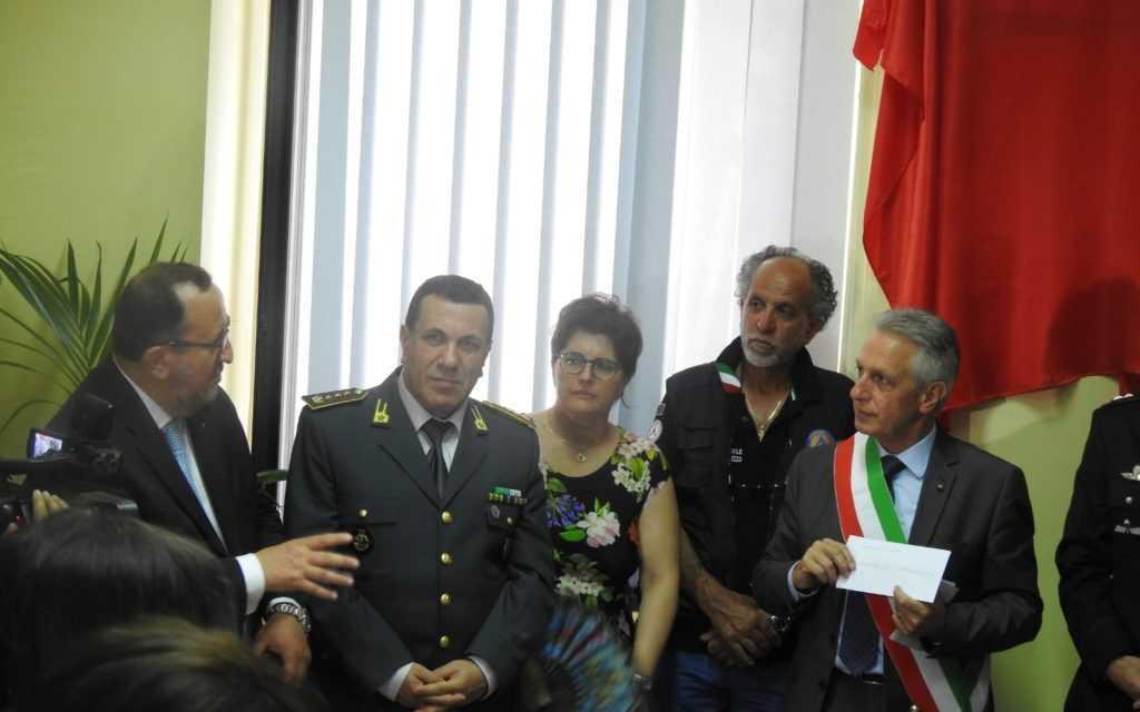 """FOTO   Crognaleto: inaugurata a Nerito la Sala Operativa Comunale nel ricordo di """"Barnabei Benito"""""""