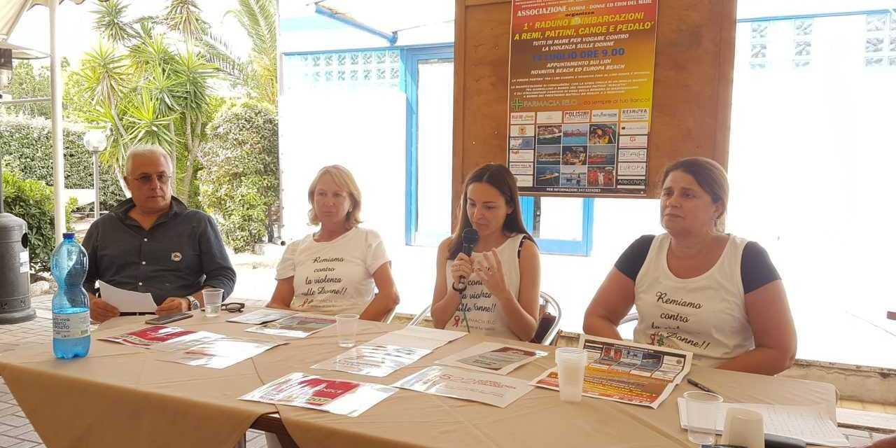 """Giulianova, """"Uomini e donne in mare"""" contro la violenza sulle donne: domenica 1° Raduno di imbarcazioni a remi, pattini, canoe e padalò"""