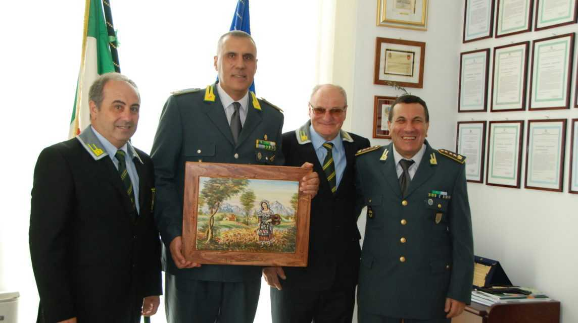 FOTO | Guardia di Finanza, visita di commiato del Gen. Aniello al Comando di Teramo