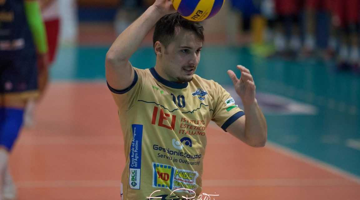 Volley,  colpaccio Blueitaly Pineto:  il nuovo libero è Giovanni Provvisiero