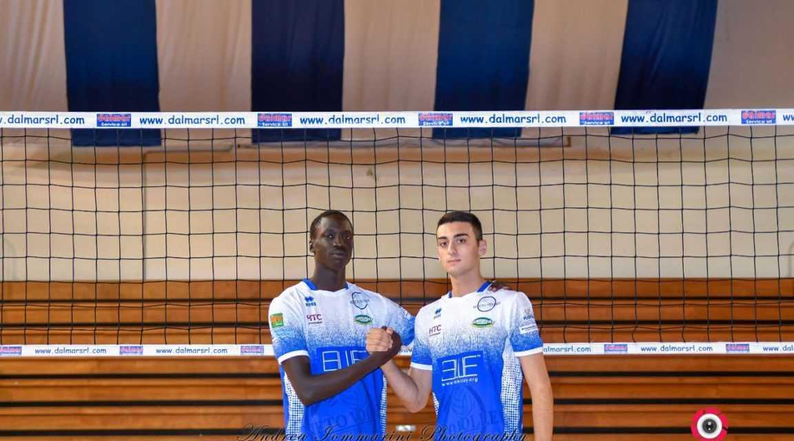 Volley, in casa Pineto arrivano due rinforzi giovani e promettenti: John Dihu Malual e Alessio Omaggi.