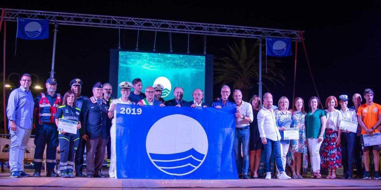 Tortoreto, la 23esima Bandiera Blu celebrata alla presenza del Presidente FEE Claudio Mazza