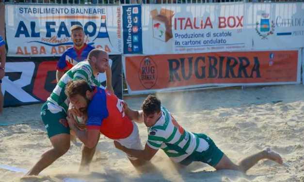 Beach rugby, domenica master finale ad Alba Adriatica con 16 formazioni