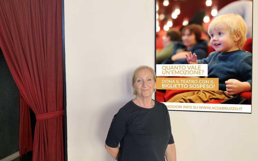 Teramo, ACS attiva il Biglietto Sospeso che regala il Teatro ai meno fortunati