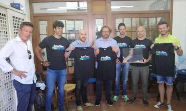 Scuola Mtb Prati di Tivo: a Pietracamela la consegna della targa di Scuola di Ciclismo FCI