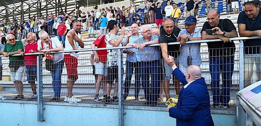 Calcio C, la soddisfazione di Bruno Tedino per l'accoglienza ricevuta