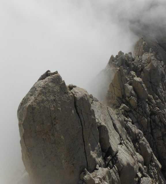 Gran Sasso, tre persone in difficoltà sul Corno Piccolo: intervento dei Vigili del Fuoco e del Soccorso Alpino