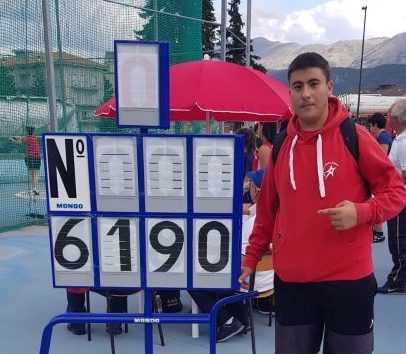 Atletica Gran Sasso, Pierpaolo Spezialetti da record regionale Allievi nel martello con 61,90 metri