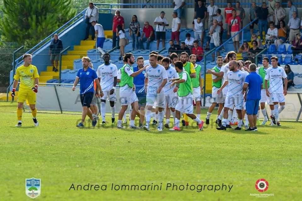 Calcio D, sorridono le teramane S.N. Notaresco e Pineto ma il pari del Giulianova a Matelica vale oro