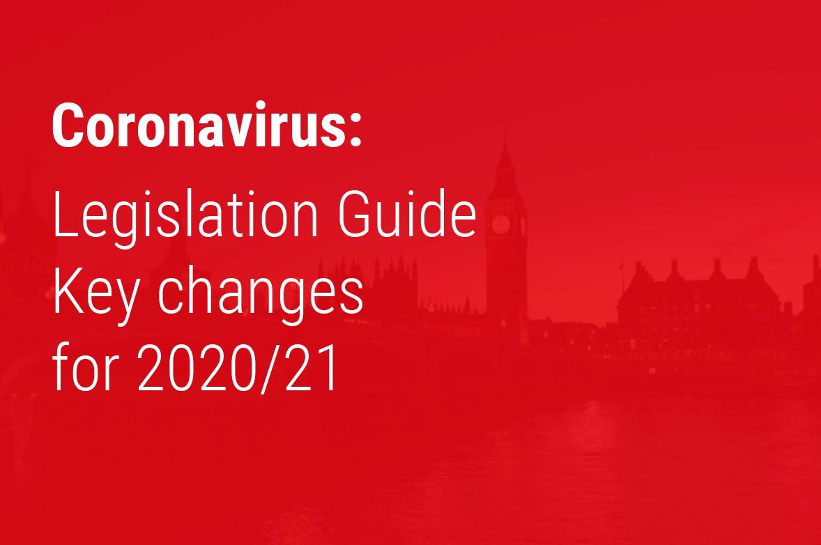 Legislation Guide - Key changes for 2020/21