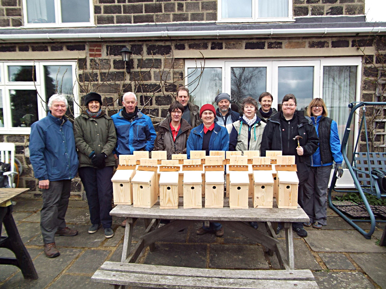 Making Bird Boxes  East Keswick Wildlife Trust