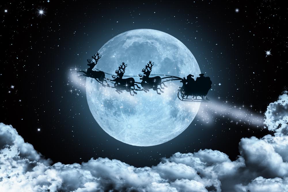 <2015年12月25日20時11分は かに座の満月です>