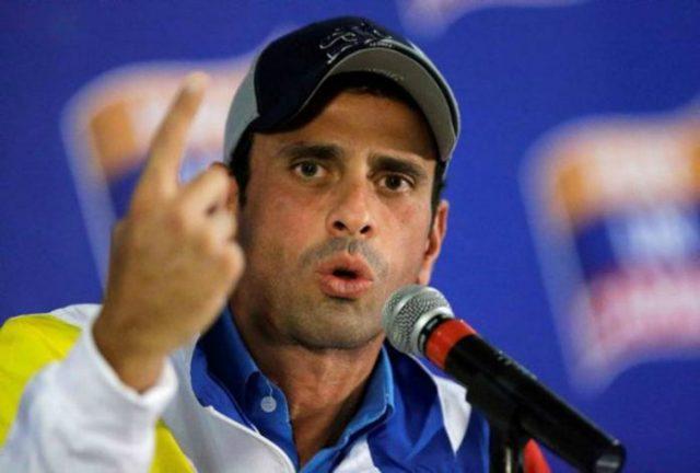 Capriles fue citado por la Contraloría General de República