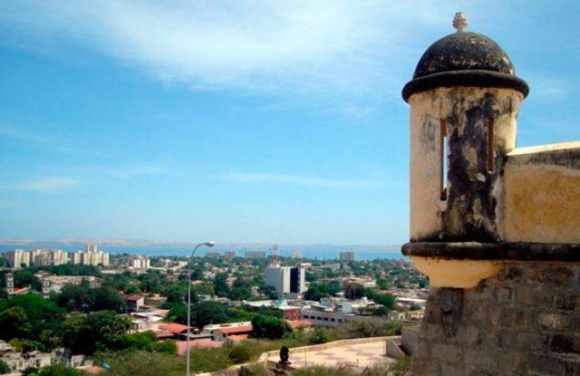 Parte de la ciudad de Cumaná