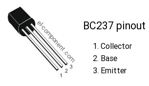 BC237 npn transistor complementary pnp, replacement