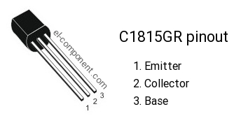 C1815GR npn transistor complementary pnp, replacement