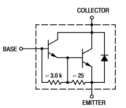 MJ11032 n-p-n transistor complementary pnp, replacement