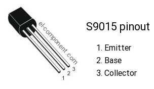 S9015 p-n-p transistor complementary npn, replacement