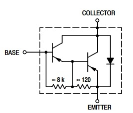 TIP127 p-n-p transistor complementary npn, replacement