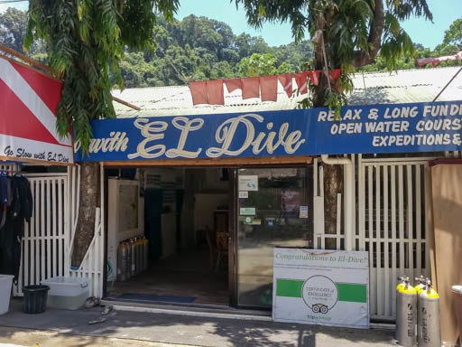 El Dive, our dive center in El Nido