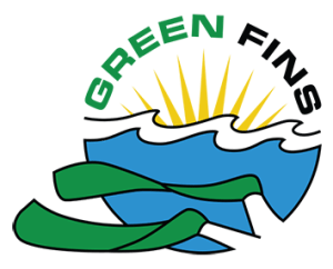 Green Fins logo website