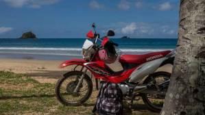 Moto XRM El Nido