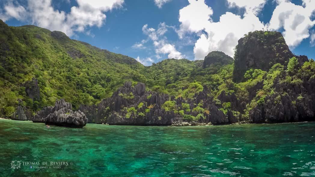 Inside Cadlao Lagoon, El Nido, Philippines