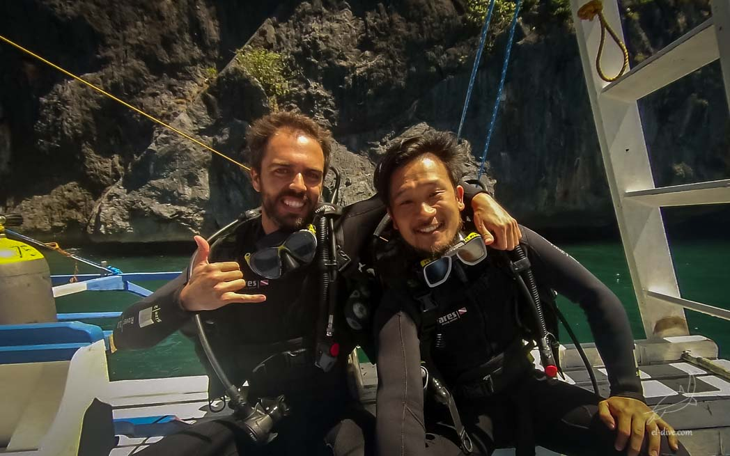 Diving lovers