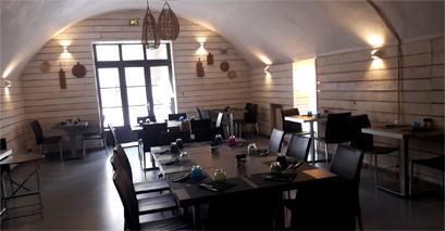 El Gusanillo concept restaurant et pizzéria à St Hippolyte du Fort - espace groupe