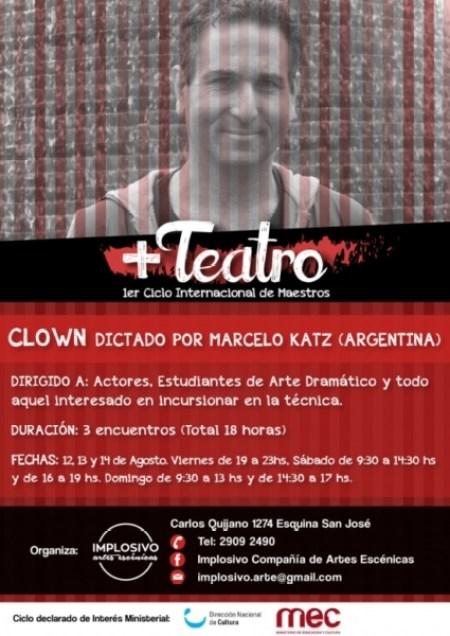 Taller clown Uruguay Katz