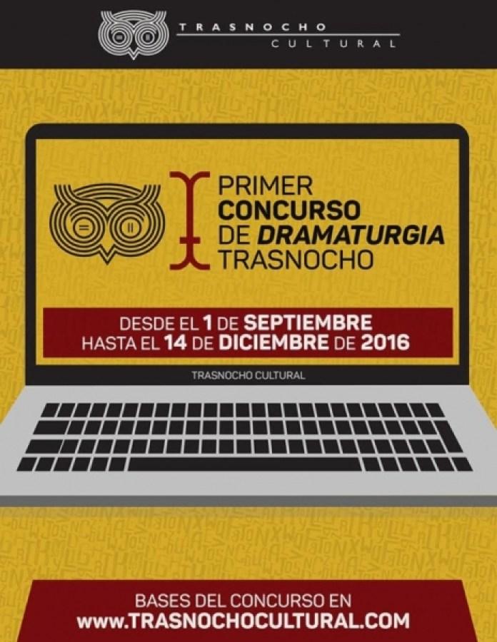 concurso de dramaturgia trasnocho cultural
