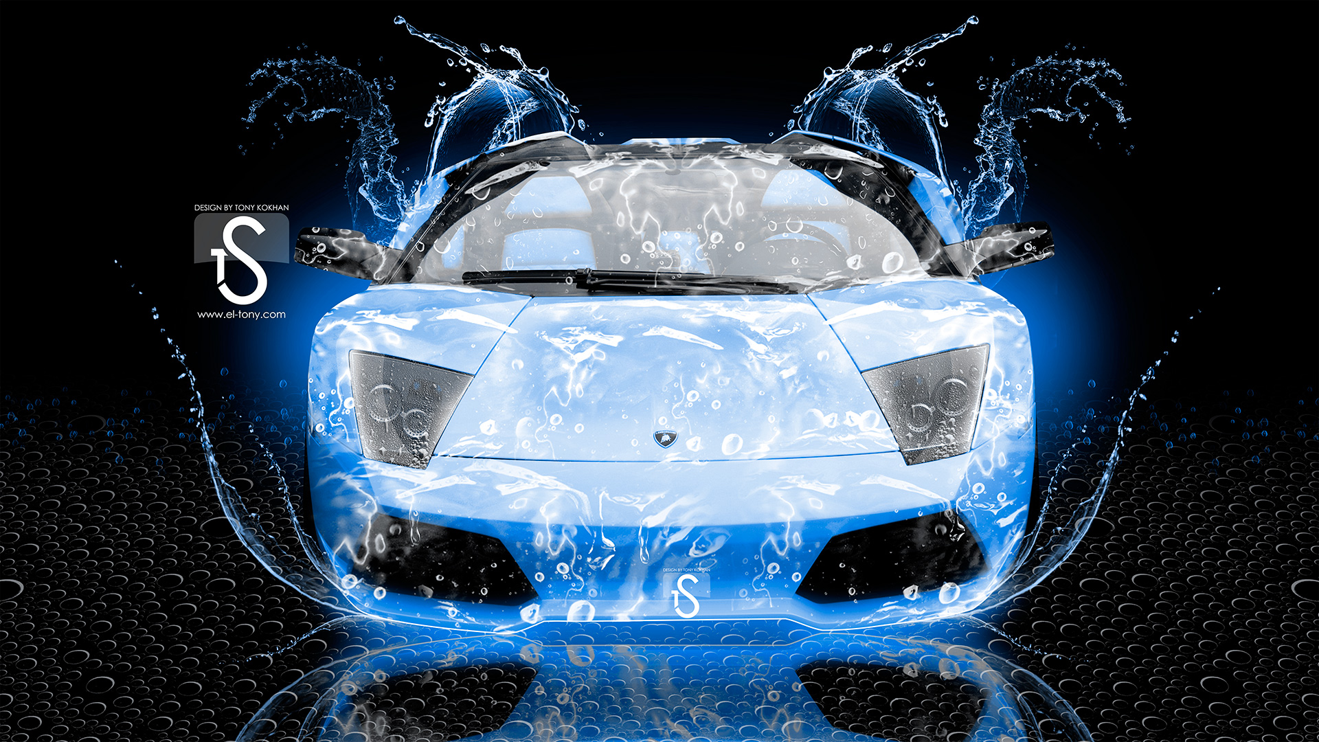 lamborghini murcielago water car 2013 | el tony