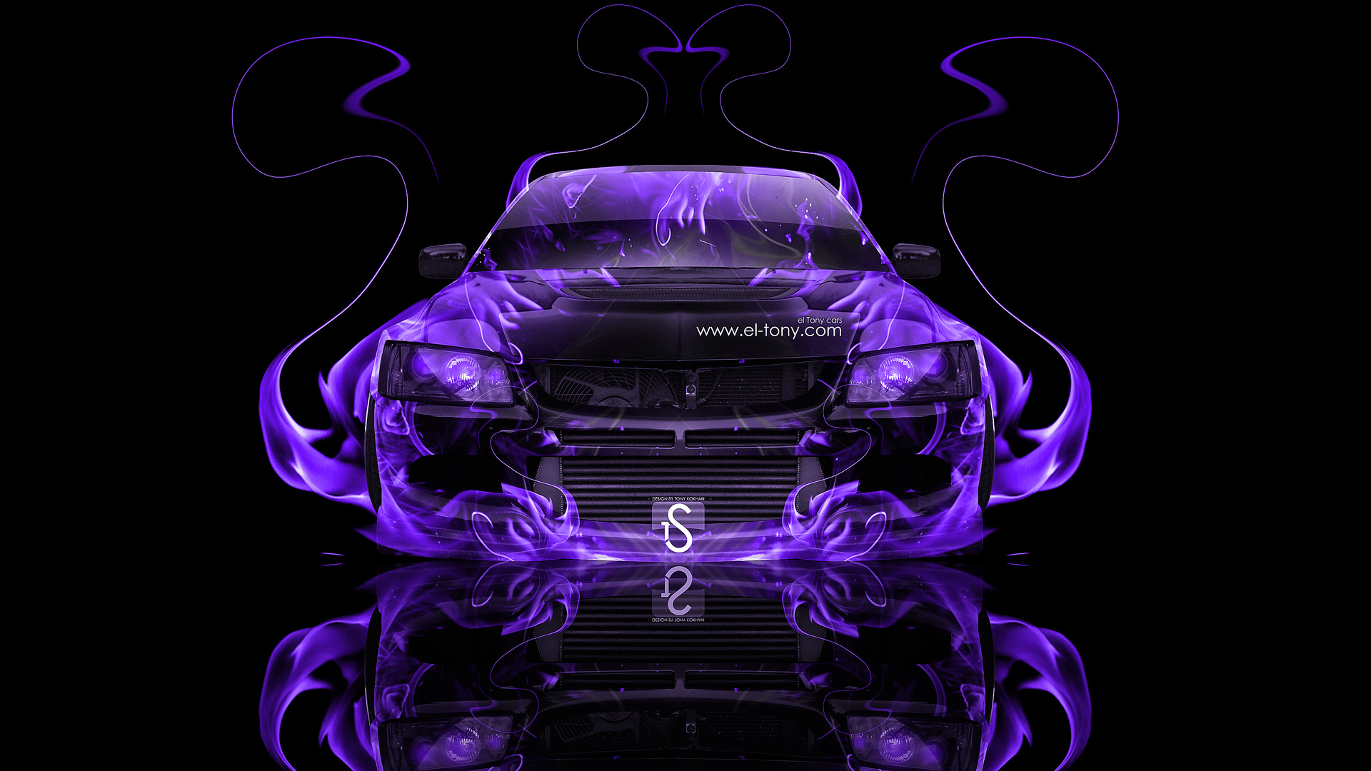 Iphone 2g Wallpaper For Iphone X Mitsubishi Lancer Evolution 8 Jdm Fire Abstract Car 2013