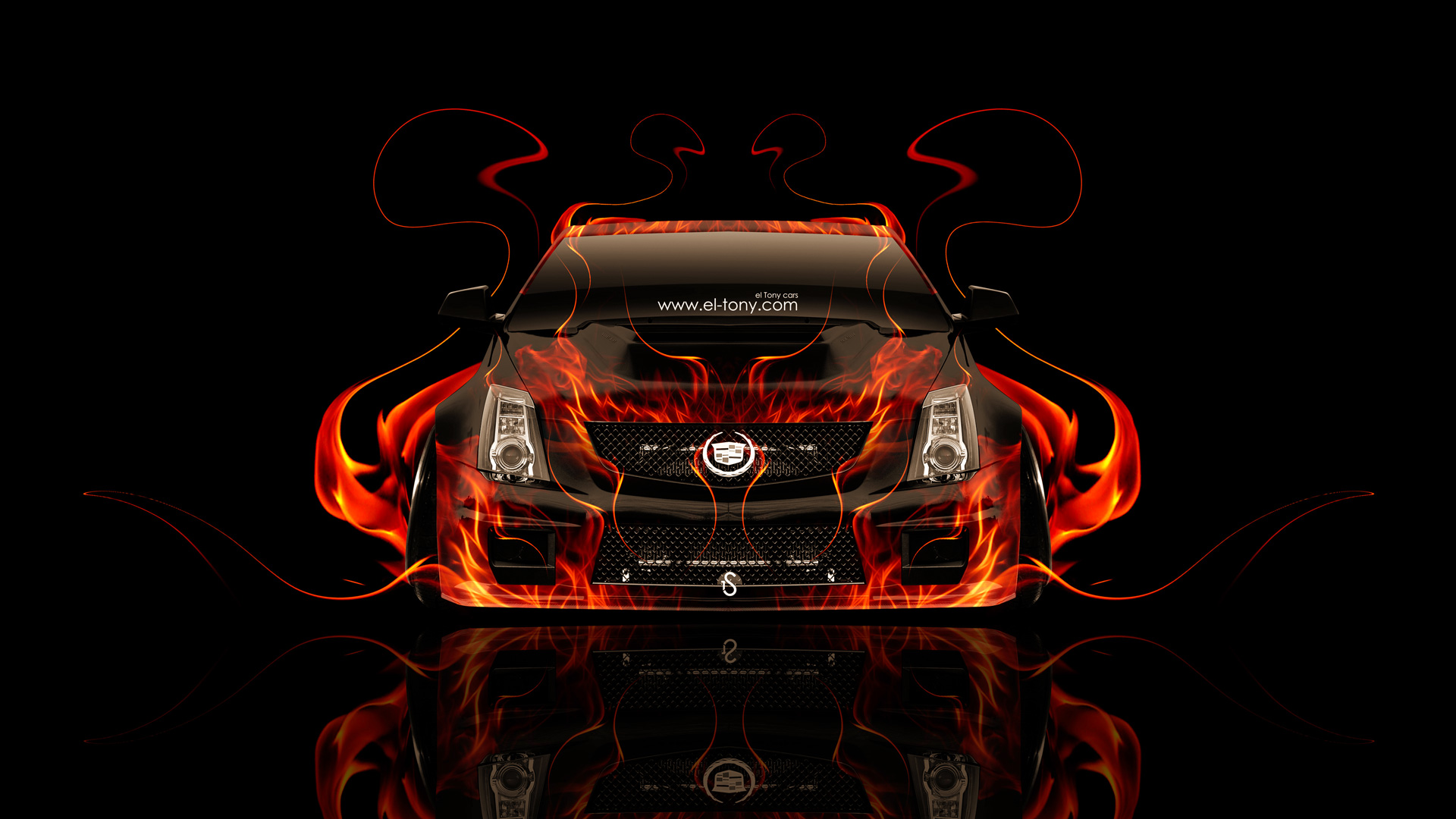 2017 Audi R8 Iphone Wallpaper Cadillac Cts V Hennessey Tuning Front Fire Car 2014 El Tony
