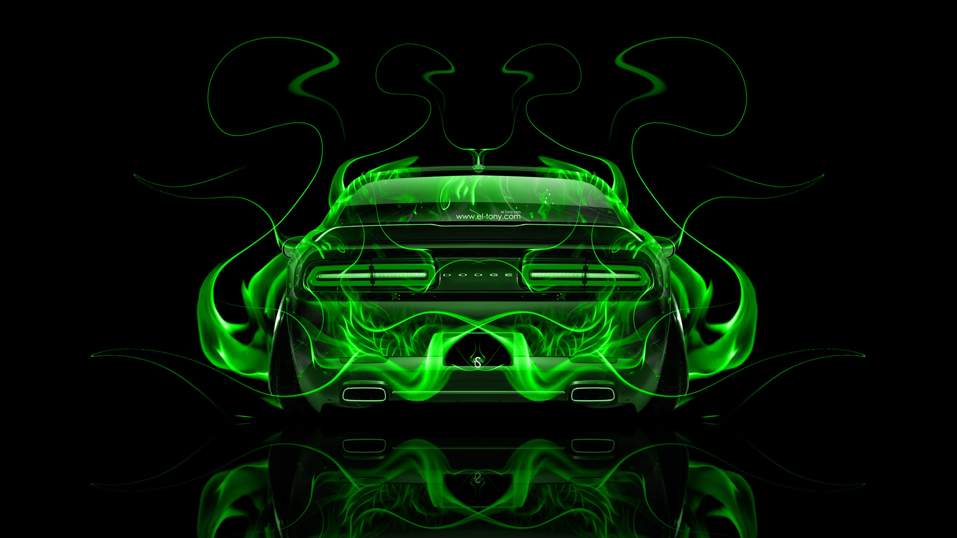Nissan Gtr Car Hd Wallpapers Dodge Challenger Muscle Back Fire Abstract Car 2014 El Tony