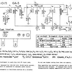 Gibson 50 S Wiring Diagram Data Flow For Website Projects Tube Amp Schematics Information